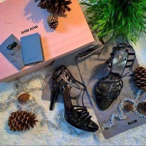 Authentic Miu Miu Vernice Glamour Heels